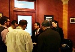 February 9, 2016: Senator Jay Costa meeting with Press following Gov. Wolf's Budget Address.