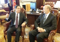 February 9, 2016: Sen Costa and Gov Wolf Budget Hold Town Hall Discussion with CCAC