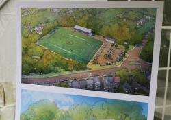 June 13, 2019: Sen. Costa joined local officials and Chatham U. staff for the groundbreaking of renovations at Graham Field in Wilkinsburg.