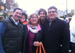 October 17, 2015: Senator Costa attends the Greenfield Bridge Rock Away the Blues Party