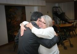 March 9, 2015:  Senator Costa visits the Knoxville Senior Center