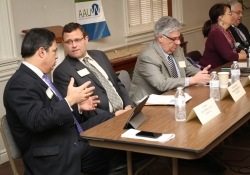 March 8, 2016: Senator Jay Costa participated in a legislative forum hosted by the Fox Chapel Area branch of the American Association of University Women (AAUW).