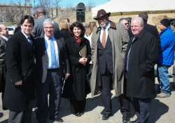 March 23, 2015: Senator Costa Attends Groundbreaking Ceremony for Phase I of the Lower Hill Infrastructure Project.
