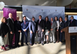 November 7, 2016: Today Sen. Costa joined friends and colleagues today as they welcomed WOW air to Pittsburgh International Airport!