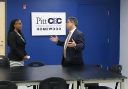 June 7, 2019: Sen. Costa tours the University of Pittsburgh Community Engagement Center in Homewood.