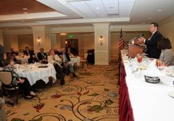 May 20, 2015: Senator Costa visits the Pittsburgh Downtown Rotary Club