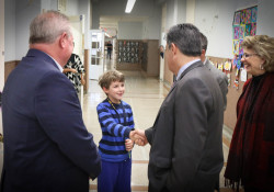 January 15, 2020: Sen. Costa toured Provident Charter School in Pittsburgh's Troy Hill neighborhood to learn more about how the school plays a unique role in serving the needs of area students with learning differences such as dyslexia.