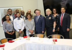 April 11, 2019: Senator Costa joined students, administrators, and  colleagues from the Legislature  at Penn State Greater Allegheny for a luncheon.