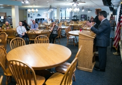 May 30, 2019: Sen. Costa updated the staff of the Western Pennsylvania School for the Deaf, along with some local municipal leaders, on current issues facing our Commonwealth.