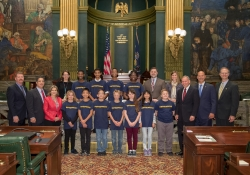 WPSD Students Visit Capitol :: October 16, 2018