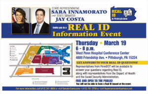 Real ID Informational Event - March 19, 2020