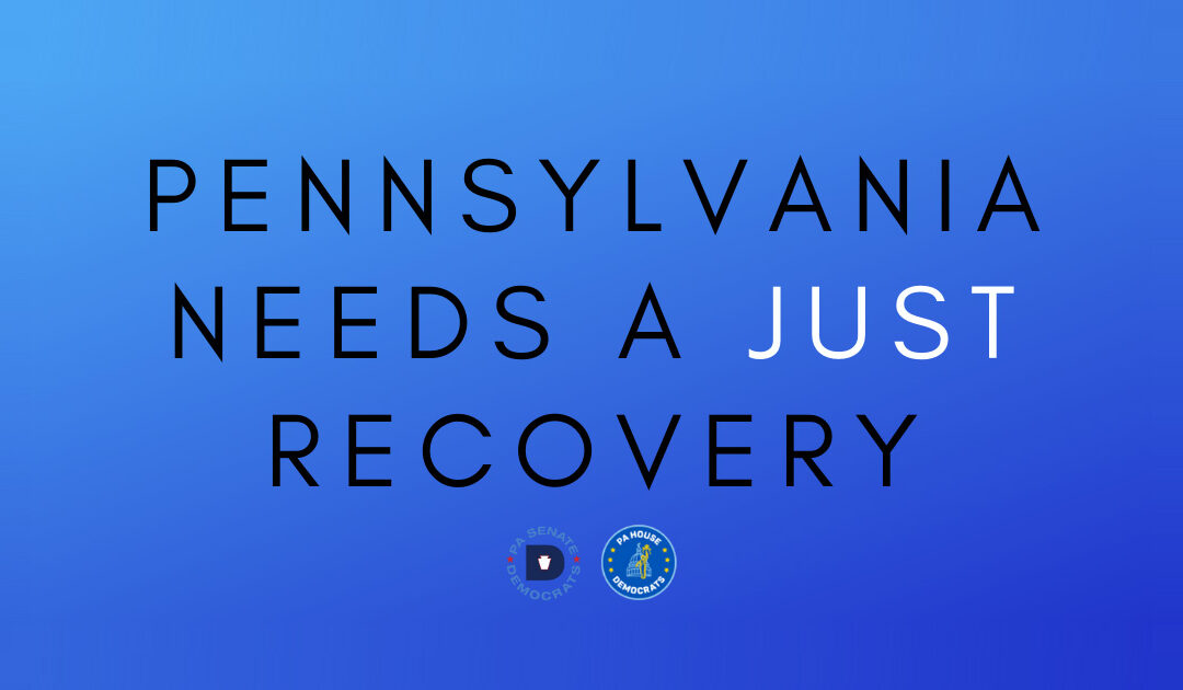 A just recovery