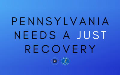 "PA Senate and House Democrats to Host ""PA Needs A Just Recovery"" Statewide Events"