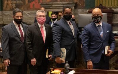 Senator Costa Will Attend Swearing in for Senator Brewster on Wednesday