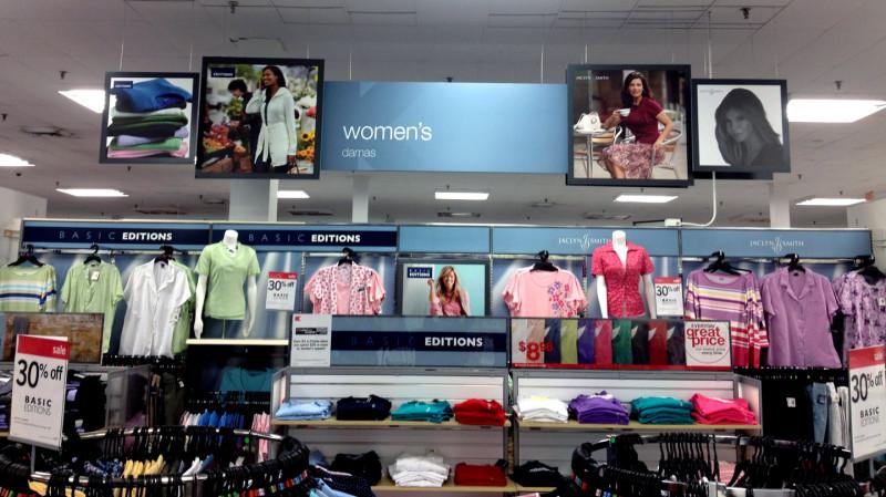 Sears/Kmart Retail Signage