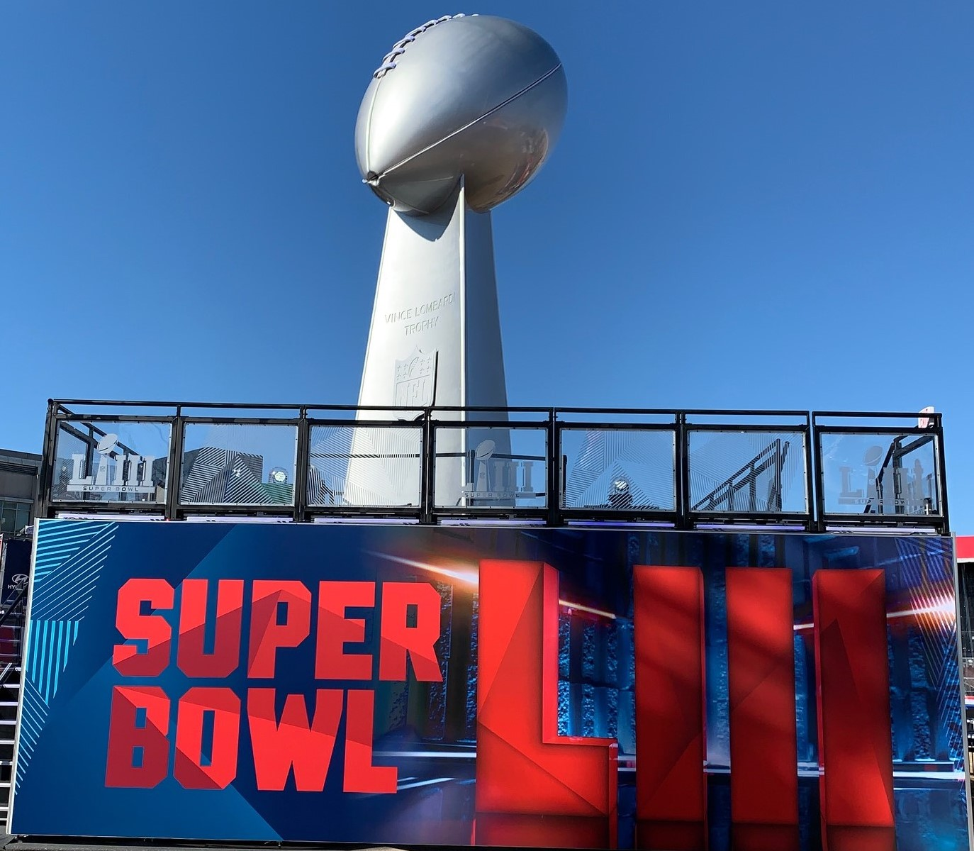Where is GRG Today? At the Super Bowl!