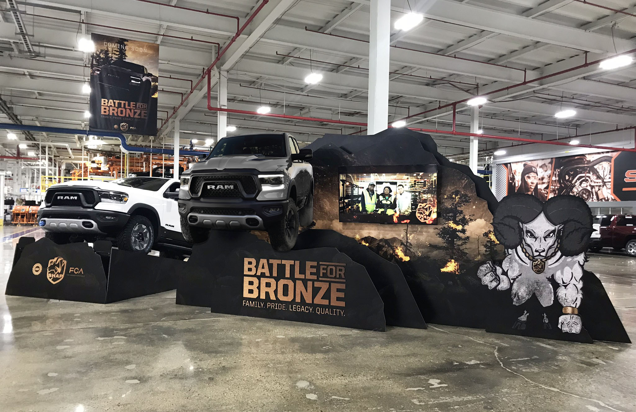 Where is GRG Today? Creating Excitement For The New Ram Truck!