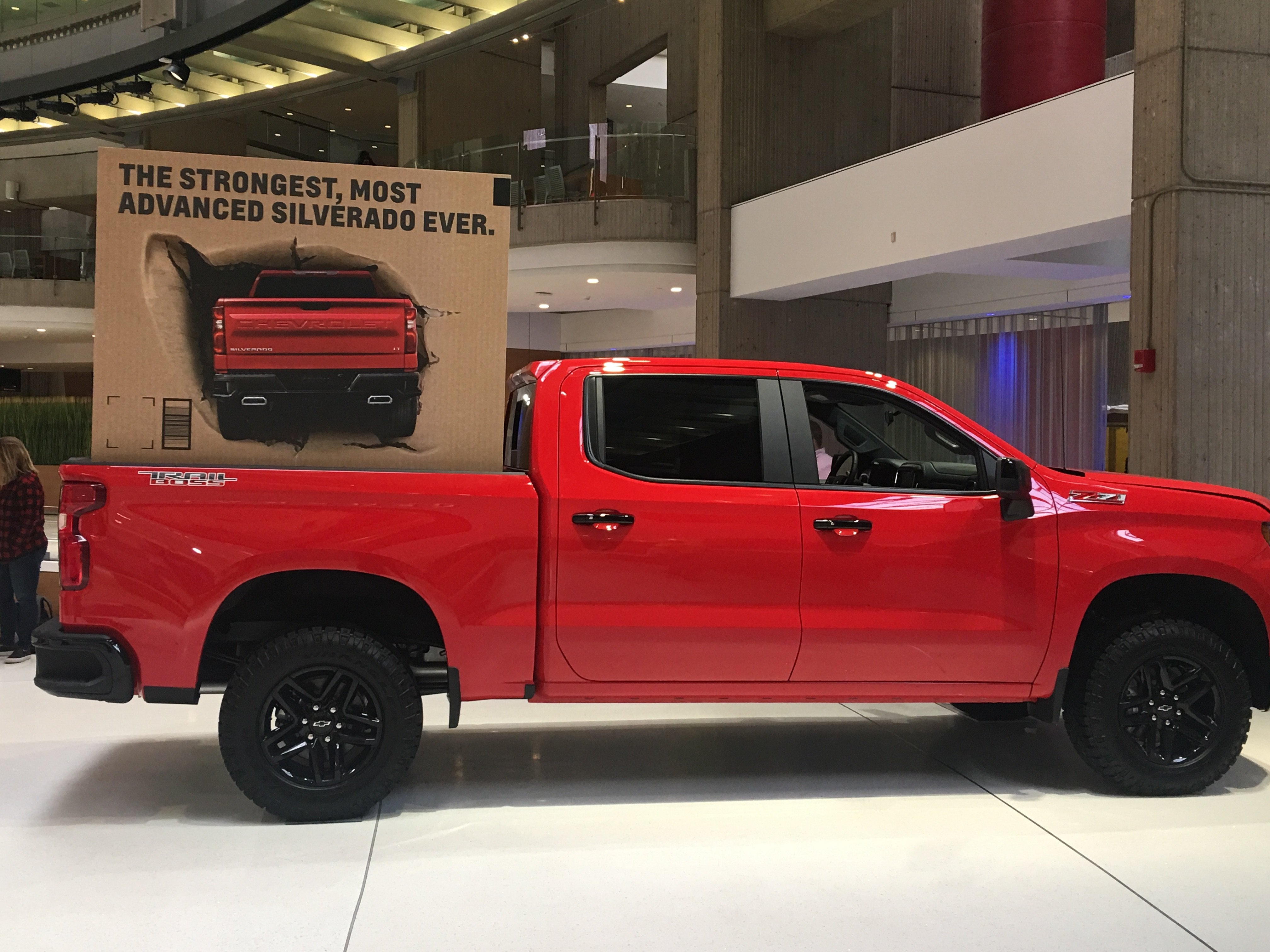 Where is GRG Today? Designing Silverado-Sized Display Boxes