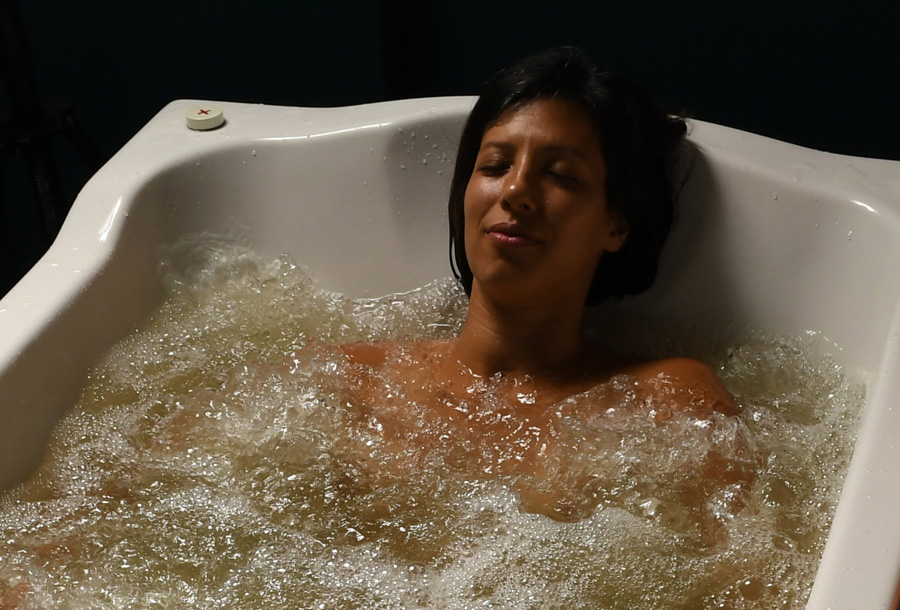 Hydrotherapy Infusion Yub at Sanctuary Spa Houston