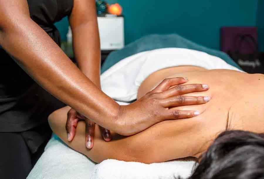 Back and shoulder massage
