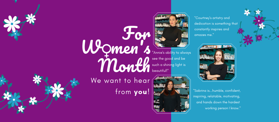 Celebrating the Power of Women All Month Long at Sanctuary Spa!