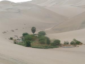 Huacachina sur de Perú