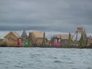 喀喀湖浮岛