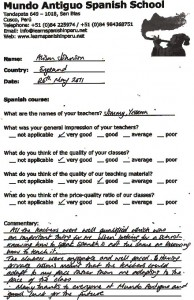 All the teachers were well qualified which was an important thing for me...