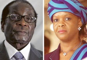 Robert Mugabe Grace Mugabe Marriage Succession First Lady Second Wife Life Young