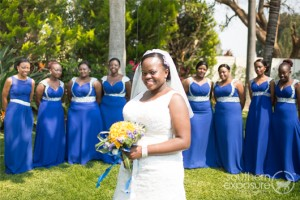 Zimbabwe Wedding Blue