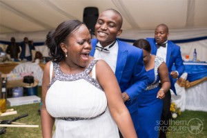 Zimbabwe Wedding Blue Theme