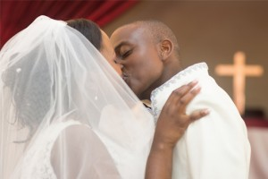 Zimbabwe Wedding Kiss