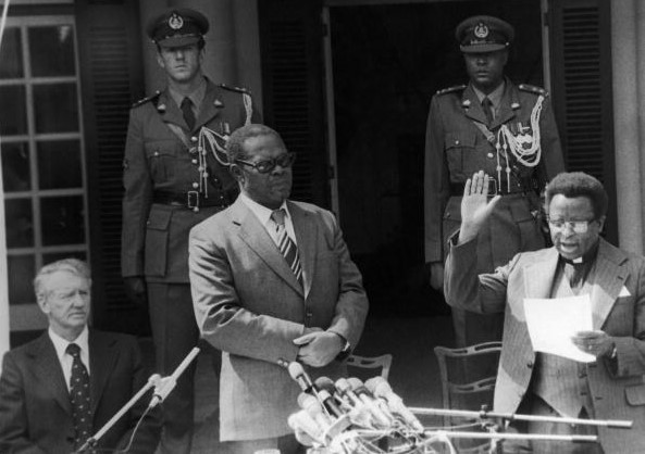 First Black Prime Minister In Rhodesia 1979