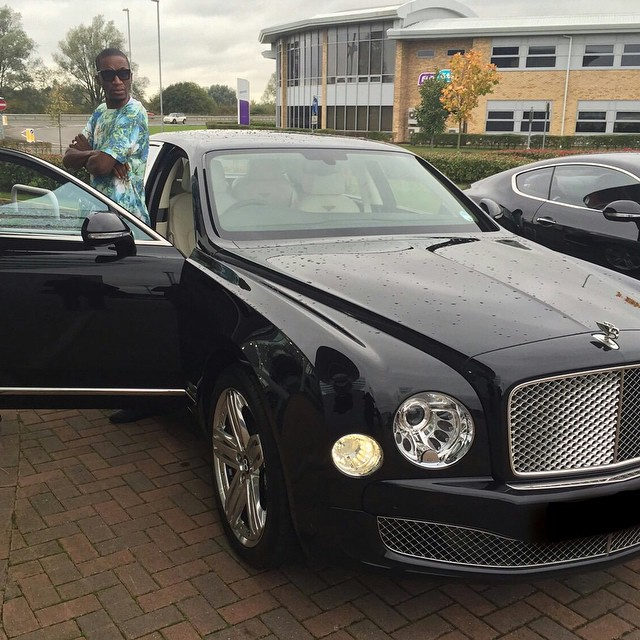 Uebert Angel Rolls Royce