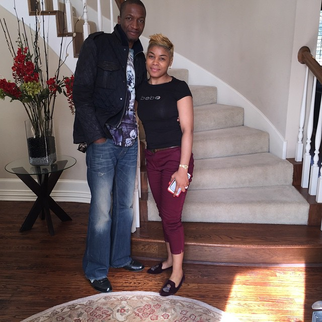 Uebert Angel and wife beverly house in usa