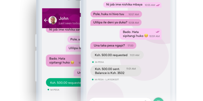 Safaricom Responds to Alipay and Wechat With New Messaging