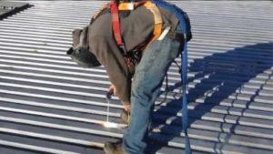 Roof Deck Welding