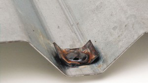 Arc Spot Weld With Washer