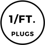 1 Foam Plugs Per Foot Icon