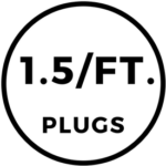 1.5 Foam Plugs Per Foot Icon