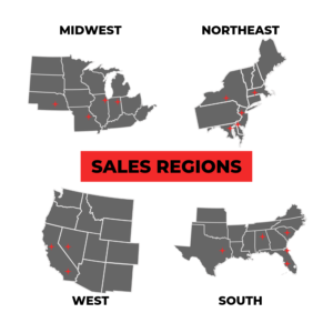 National Sales Territory