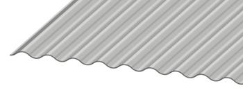 "2 1/2"" Corrugated Metal Panel Closeup"