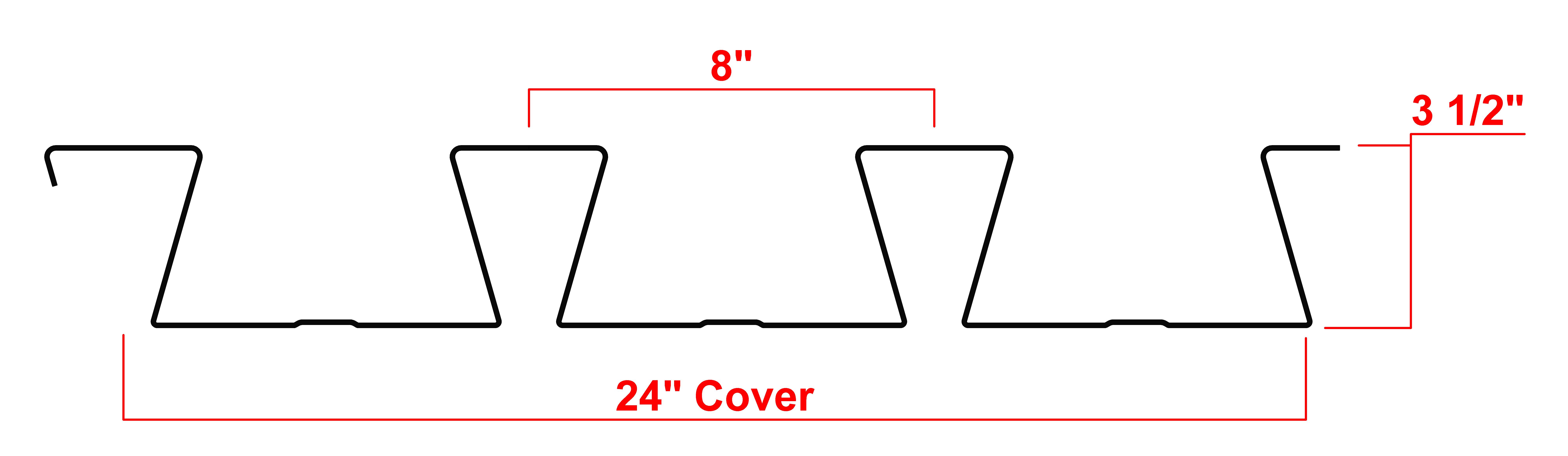 3.5 Dovetail Deck Profile