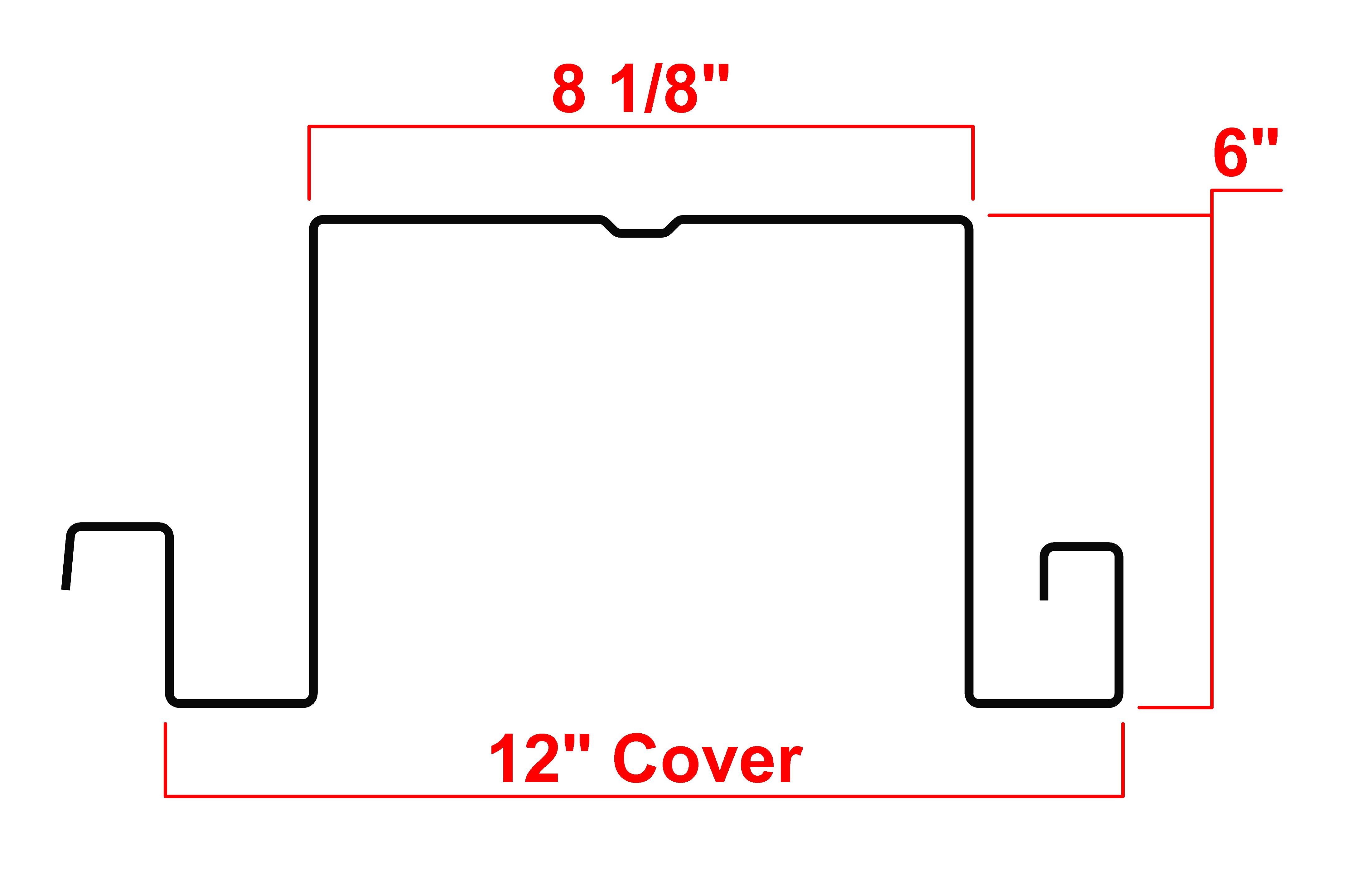 "6"" Type LS Deck Profile"