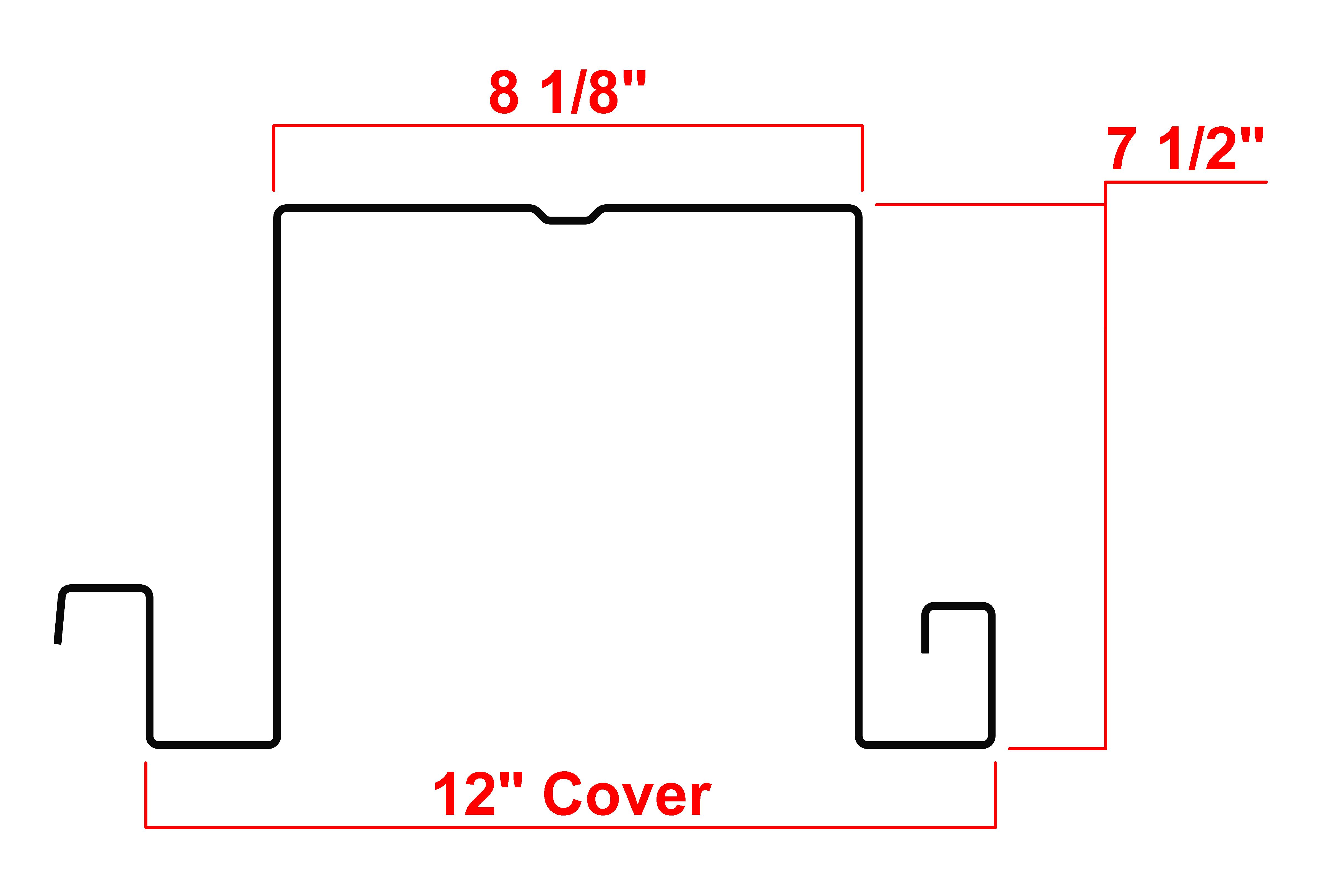 "7.5"" Type LS Deck Profile"