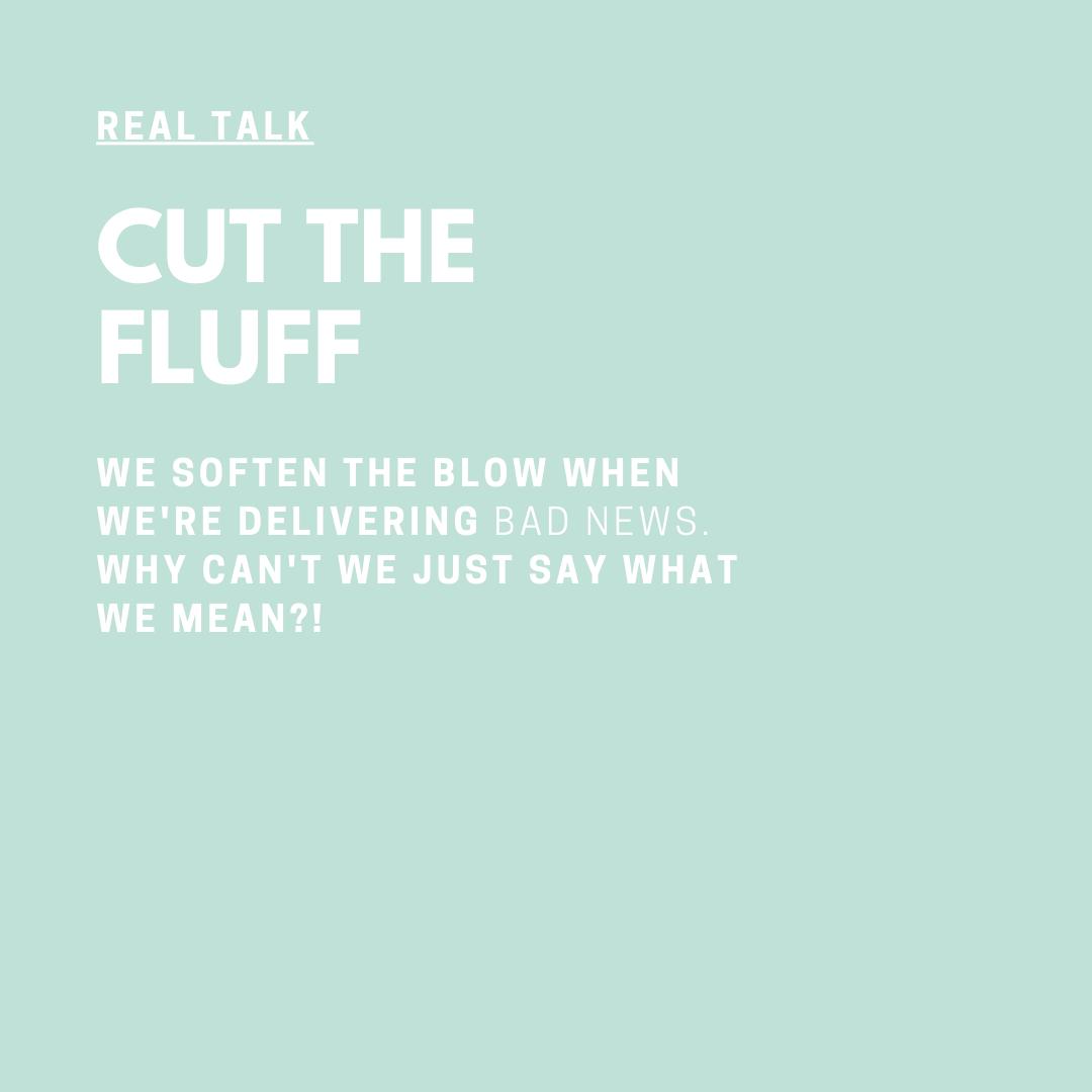 Real Talk Audio Series with Coach Jessica Elliott Cut The Fluff