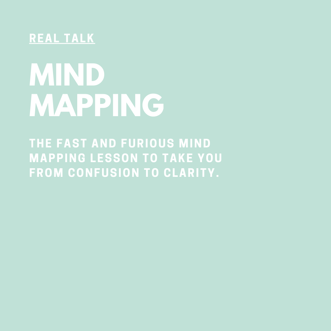 Real Talk Audio Series with Coach Jessica Elliott Mind Mapping