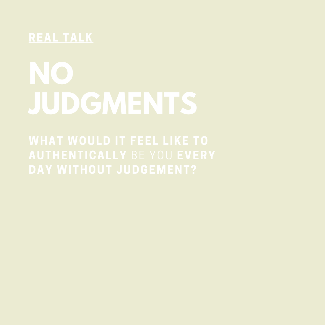 Real Talk Audio Series with Coach Jessica Elliott No Judgments