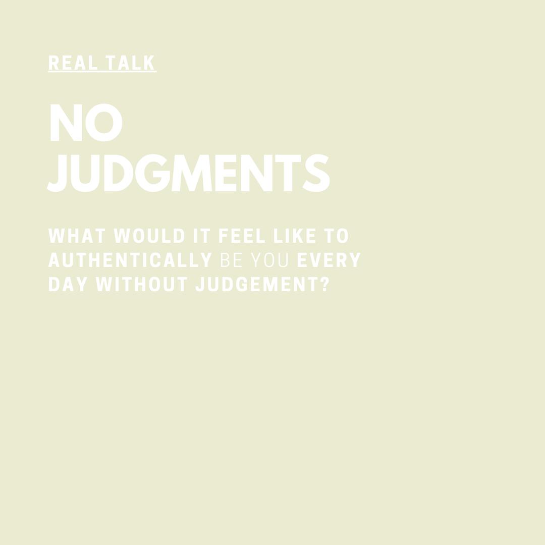 Real Talk Audio Series with Coach Jessica Elliott No Judgments