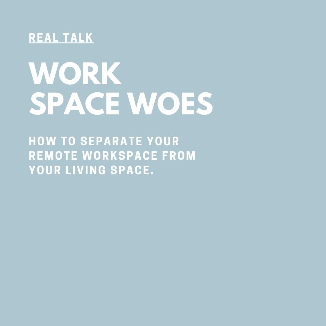 Real Talk Audio Series with Coach Jessica Elliott work spaces woes